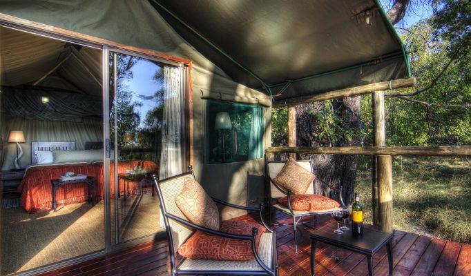 Camp Moremi, Moremi Game Reserve, Okavango