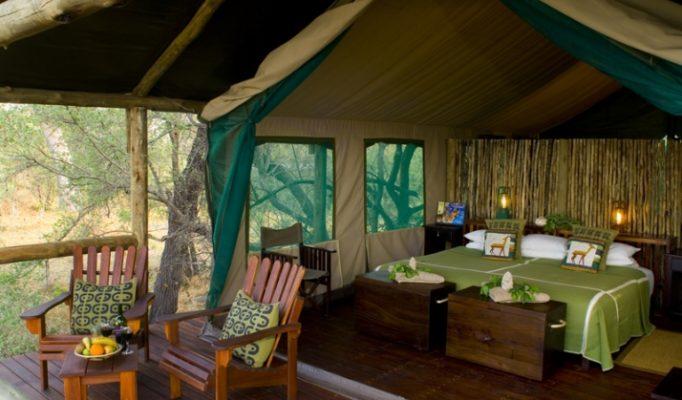 Lagoon Camp, Kwando Concession, Linyanti, Botswana